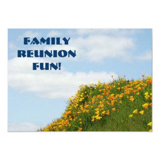 Divertimento da reunião de família! Partido dos Convites Personalizados