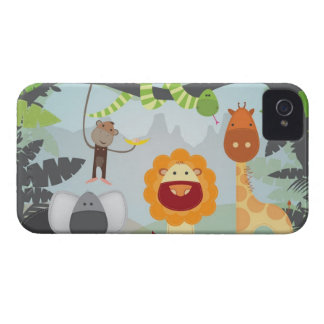 Divertimento da selva capa para iPhone 4 Case-Mate