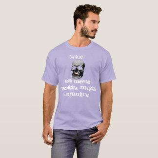 Divertimento das canvas da camiseta de Cav
