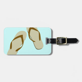 Divertimento do flip-flop tags de mala