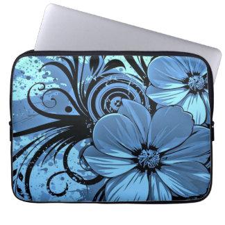 Divertimento floral capa para notebook