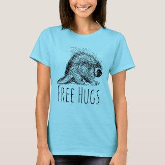 Divertimento legal e porco- livre engraçado dos camiseta