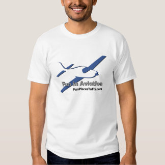 Divertimento no TShirt da aviação