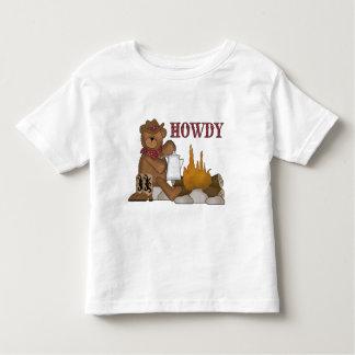 Divertimento ocidental! O ursinho do vaqueiro Camiseta
