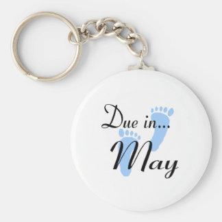 Dívida em maio chaveiros