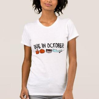 Dívida em outubro t-shirts