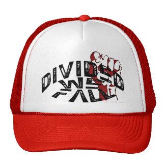 DIVIDIDO NÓS CAÍMOS chapéu do camionista Boné