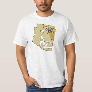Divisa da arte dos desenhos animados do mapa & do camiseta