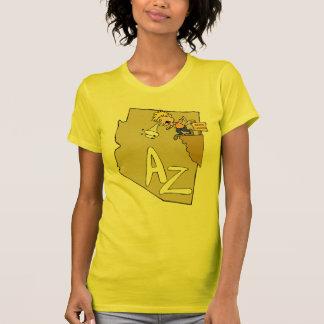 Divisa da arte dos desenhos animados do mapa & do  camisetas