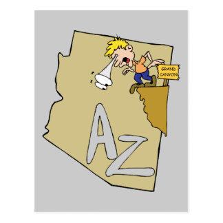 Divisa da arte dos desenhos animados do mapa & do cartão postal