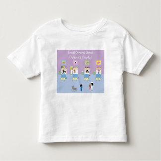 Divisão de hospital de crianças customizável t-shirts