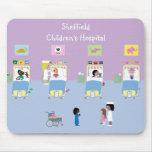 Divisão de hospital de crianças customizável mousepad