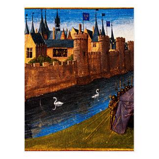 Divisão do reino de Clotaire Jean Fouquet Cartão Postal
