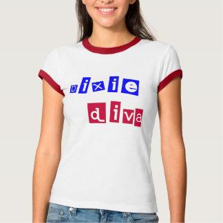 dixie camiseta