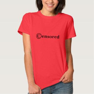 Dixie censurou a camisa camiseta