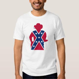 Dixie com minha guitarra t-shirt