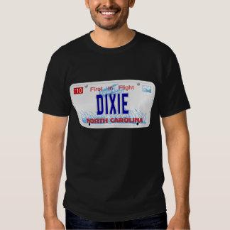 DIXIE - Placa do NC Camisetas