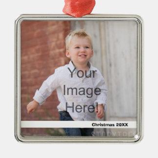 DIY - Enfeites de natal - adicione a imagem e o