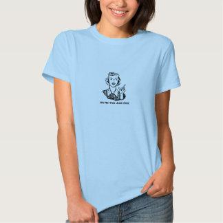 Dizer retro engraçado dos desenhos animados t-shirts
