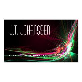DJ - Colora cartões de visitas do profissional da
