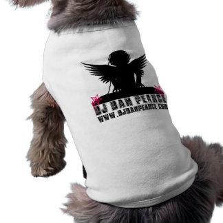 DJ Dan Pearce (artigo do animal de estimação) Camisa Sem Mangas Para Cachorro