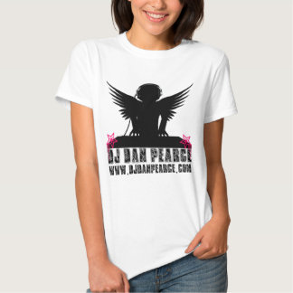 DJ Dan Pearce (fêmea) T-shirt