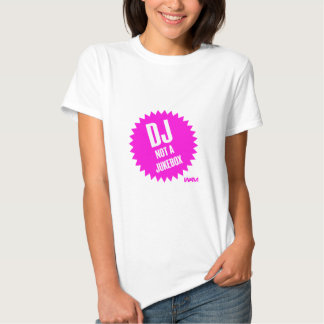 DJ não um jukebox T-shirt