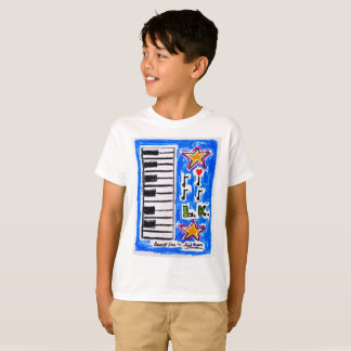 """Do """"a camisa piano"""" para meninos por Neil Myers"""