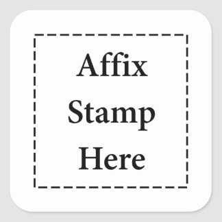 Do afixo do selo etiquetas aqui