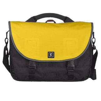 "Do ""amarelo ouro"" bolsa para laptop"