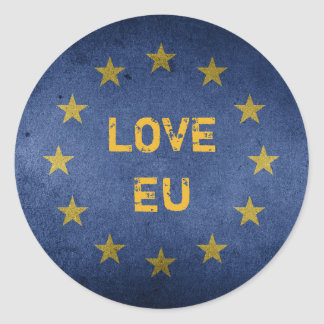 Do amor anti Brexit etiqueta da UE