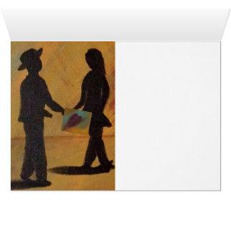 Do amor cartão dos namorados sempre