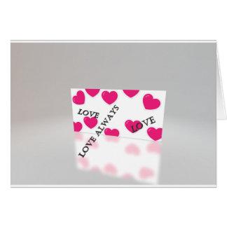 Do amor cartão sempre