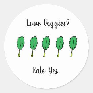 Do amor dos vegetarianos da couve etiquetas sim