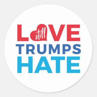 Do amor etiqueta do ódio dos trunfos ainda