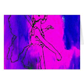"""Do """"arte & design feericamente de CricketDiane Cartão Comemorativo"""