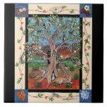 """Do """"árvore sudoeste de vida"""" quatro estações, azulejos de cerâmica"""