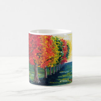"""Do """"árvores outono 1"""" caneca"""