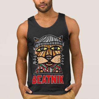 """Do """"Beatnik"""" dos homens camisola de alças do"""