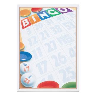 © do Bingo Convite 12.7 X 17.78cm