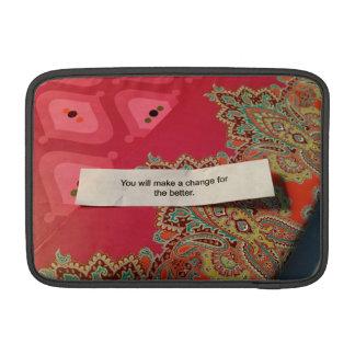 🍪 do biscoito de boa fortuna no impressão sleeve para MacBook air