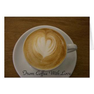 Do café com amor - convite para o café