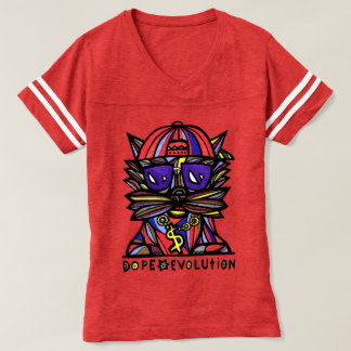 """Do """"camisa de esportes das mulheres da evolução camiseta"""