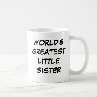 """Do """"caneca da grande irmã mais nova mundo"""" caneca"""
