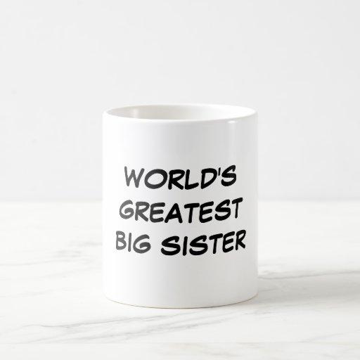 """Do """"caneca da grande irmã mais velha mundo"""""""