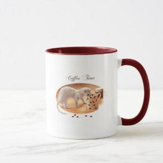 """Do """"caneca do tempo café"""" caneca"""