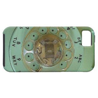 """Do """"capa de telefone azul vintage """" capa tough para iPhone 5"""