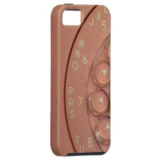 """Do """"capa de telefone cor-de-rosa vintage """" capa tough para iPhone 5"""