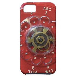 """Do """"capa de telefone vermelha vintage """" capa tough para iPhone 5"""