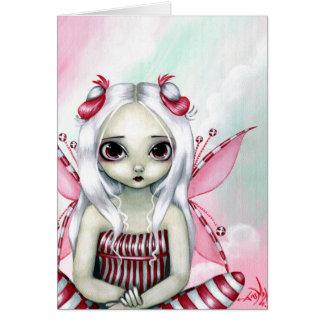 """Do """"cartão bonito Peppermint"""" Cartão Comemorativo"""